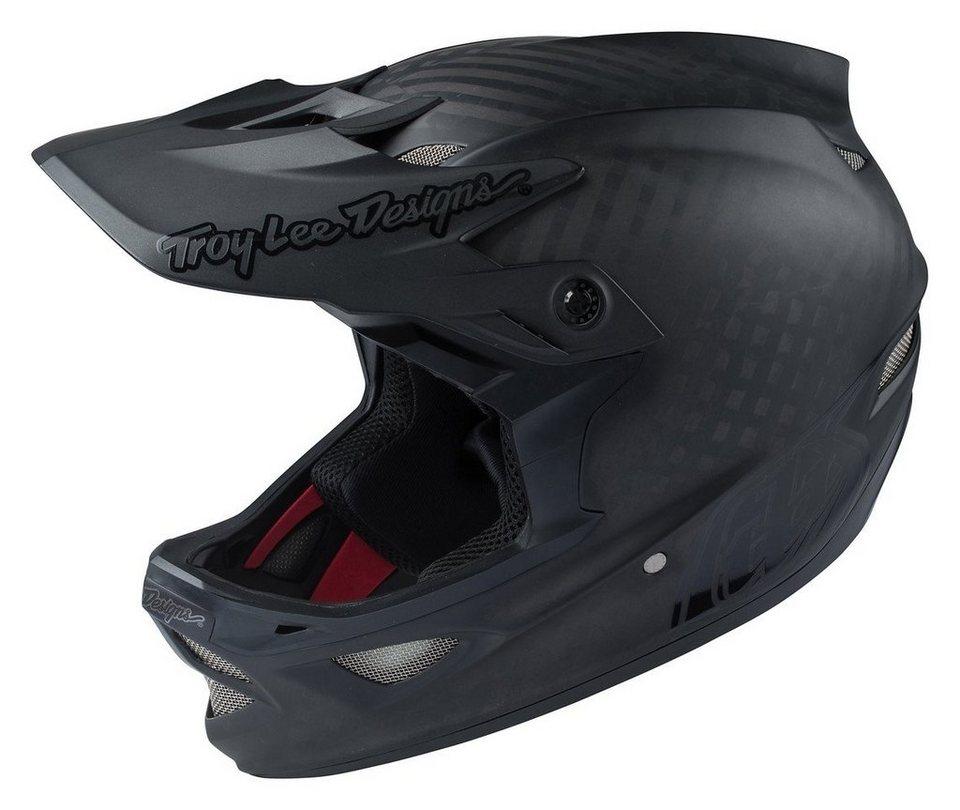 Troy Lee Designs Fahrradhelm »D3 MIPS Helmet« in schwarz