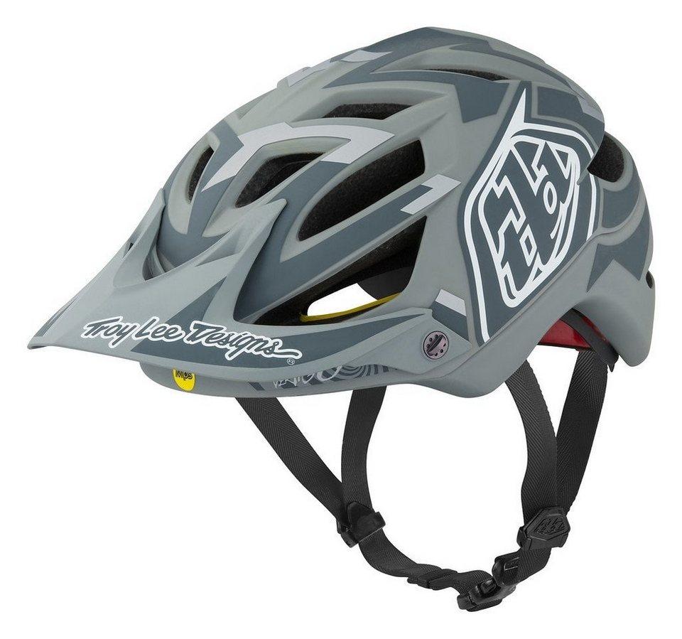 Troy Lee Designs Fahrradhelm »A1 MIPS Helmet« in grau