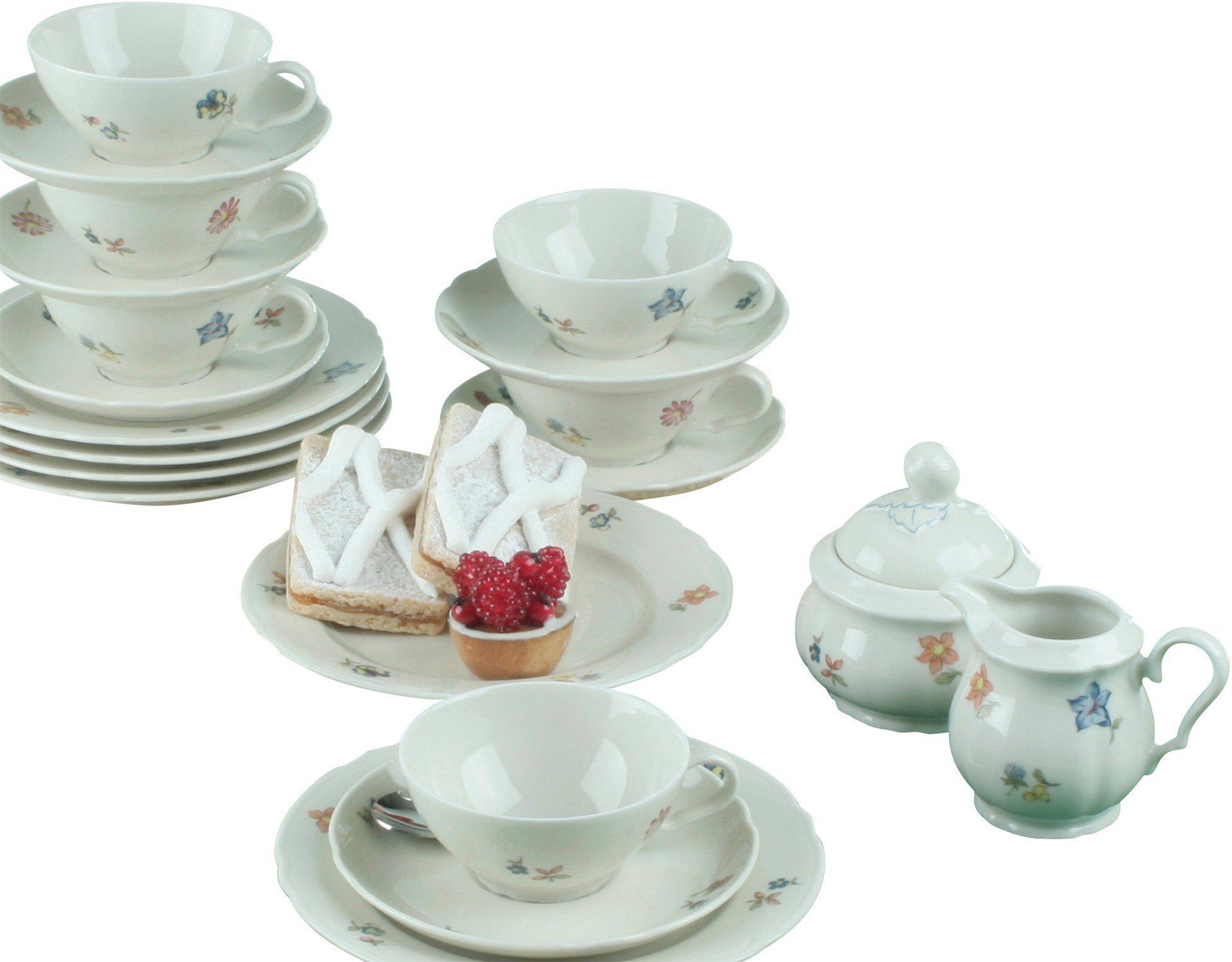 Seltmann Weiden Teeservice, Porzellan, 20-teilig, »MARIELUISE«