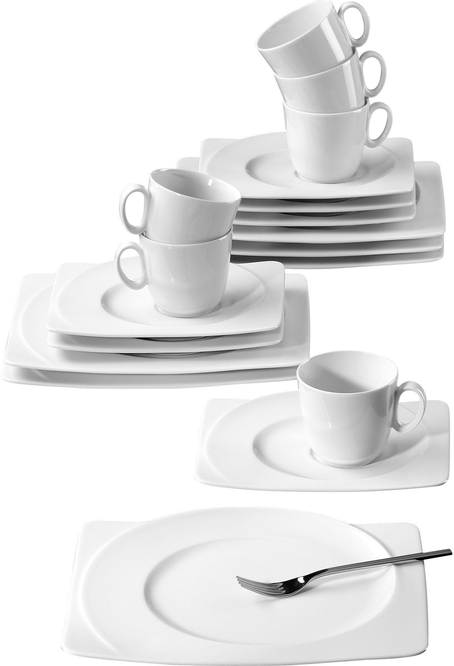 Seltmann Weiden Kaffeeservice, Porzellan, 18-teilig, »PASO«