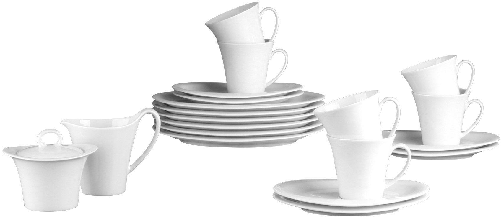 Seltmann Weiden Kaffeeservice »TOP LIFE« (20-tlg), Porzellan, Spülmaschinengeeignet