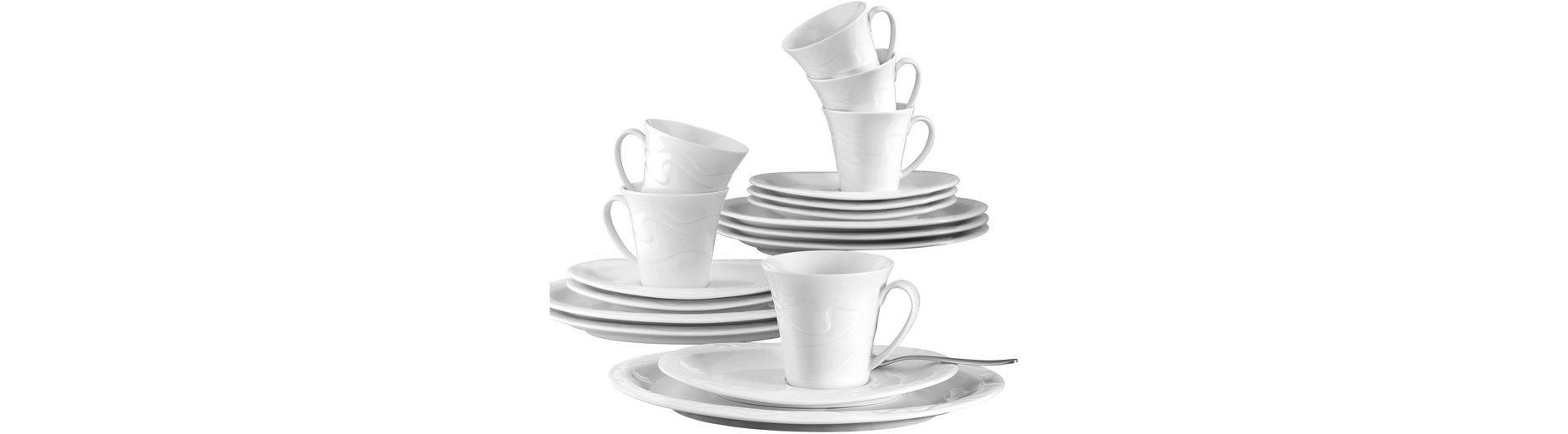 Seltmann Weiden Kaffeeservice, Porzellan, 18-teilig, »ALLEGRO«