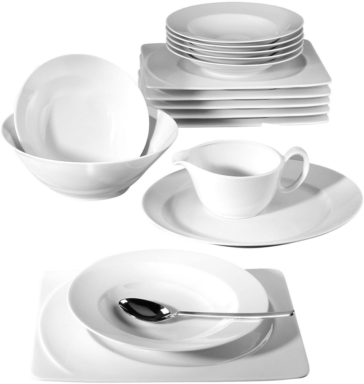 Seltmann Weiden Tafelservice, Porzellan, 16-teilig, »PASO«