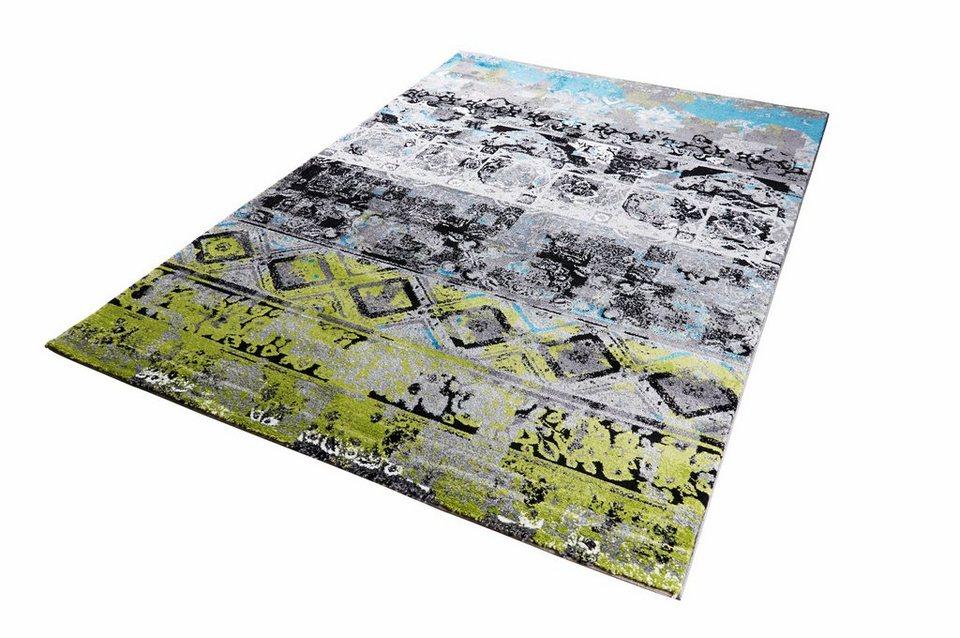 Teppich, Arte Espina, »Move 4454« in grau-grün