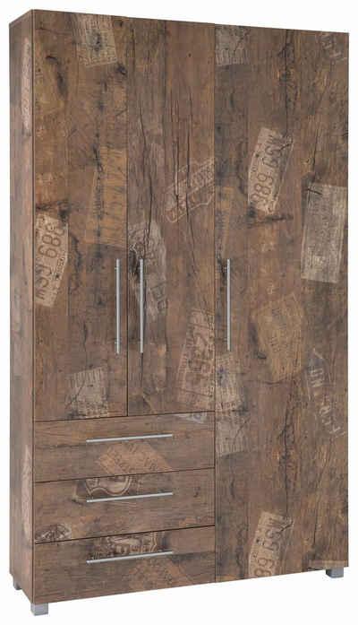 Schildmeyer Garderobenschrank »Danu« mit 3 Schubkästen und 3 Türen