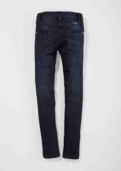 s.Oliver RED LABEL Junior Skinny Suri: Jeans mit Farbeffekt für Mädchen
