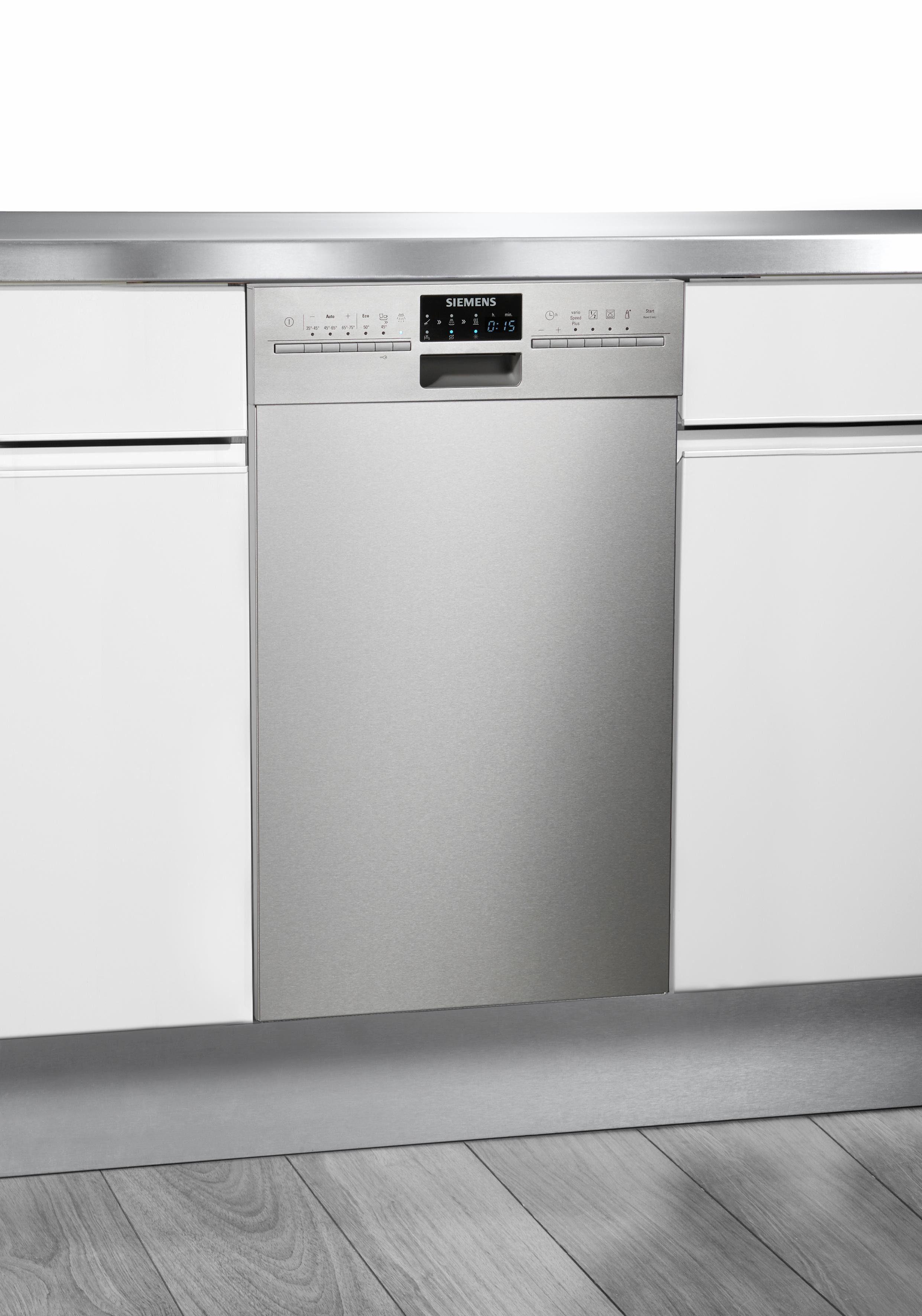 Siemens Unterbau-Geschirrspüler SR46T557EU, Energieklasse A++, 8,5 Liter, 9 Maßgedecke