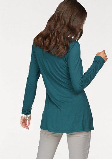 Boysen's Longshirt, mit trendiger Schnürung
