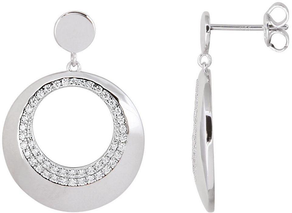 XENOX Paar Ohrstecker »Ladies Day, XS1287« mit Zirkonia in Silber 925