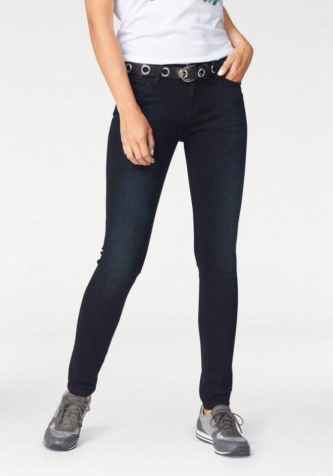 Cross Jeans® Skinny-fit-Jeans »Adriana« in darkblue-used