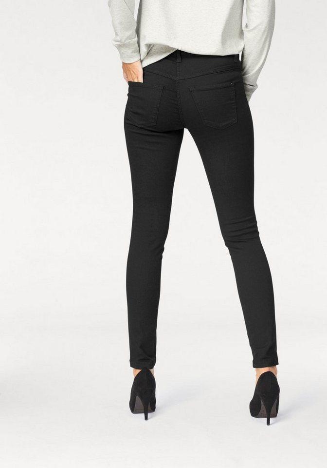 MAC Gerade Jeans »Dream Skinny« Hochelastische Qualität sorgt für den perfekten Sitz | Bekleidung > Jeans > Gerade Jeans | Schwarz | MAC