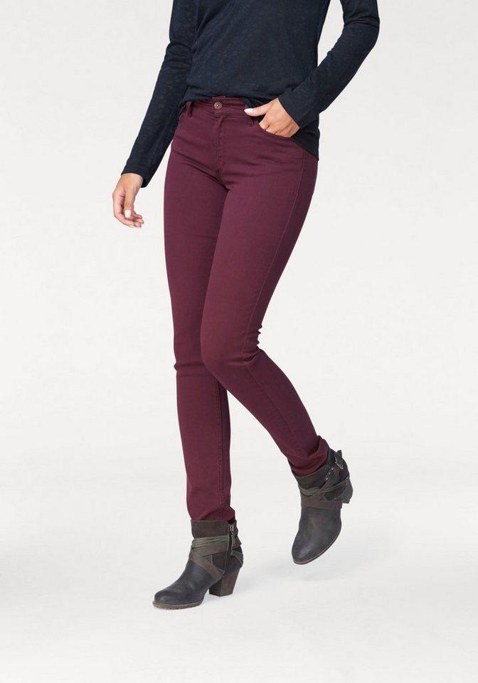 Cross Jeans® 5-Pocket-Jeans »Anya« in bordeaux
