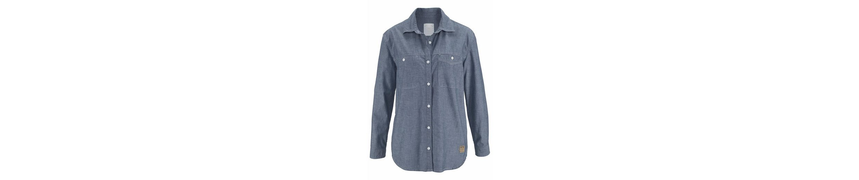 Cross Jeans® Jeansbluse, Klassisches Hemd