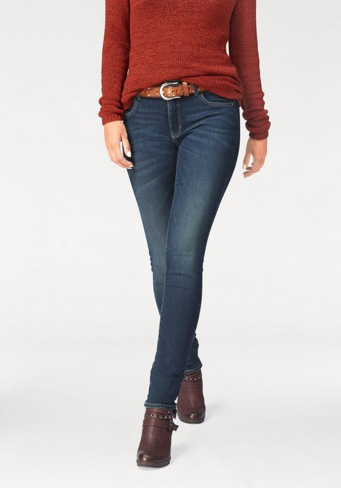 Paddock's Stretch-Jeans »Jeans Lucy Skinny« in blue-stone
