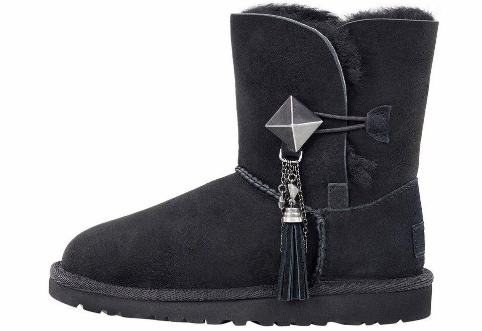 UGG »Lillian« Stiefel mit Swarowski-Elementen in schwarz