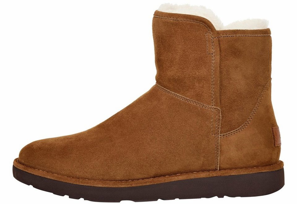 UGG »Abree Mini« Winterboots schmale Form in braun