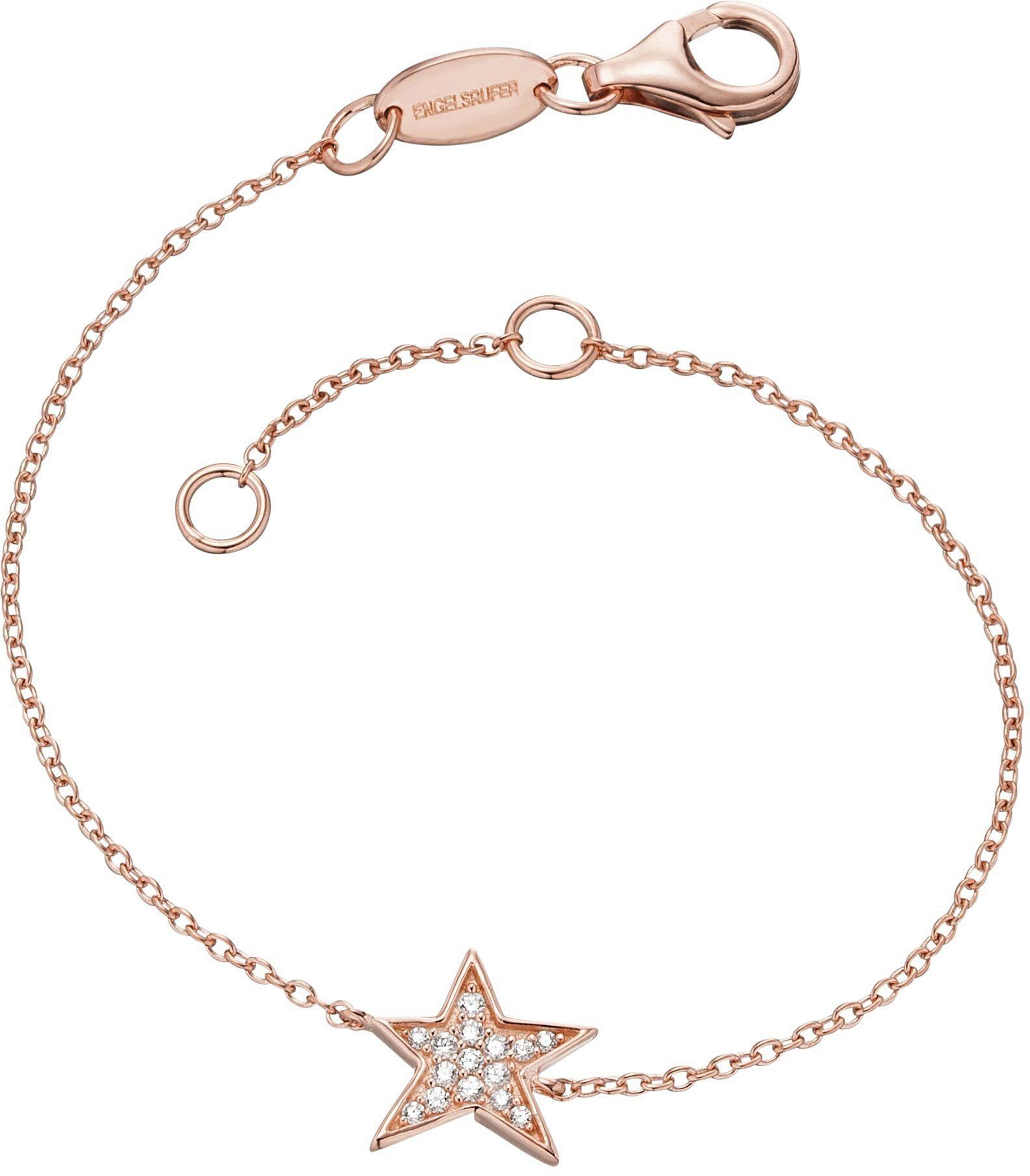 Engelsrufer Armband mit Zirkonia, »Stern, Lil', ERB-LILSTAR-ZI-R«