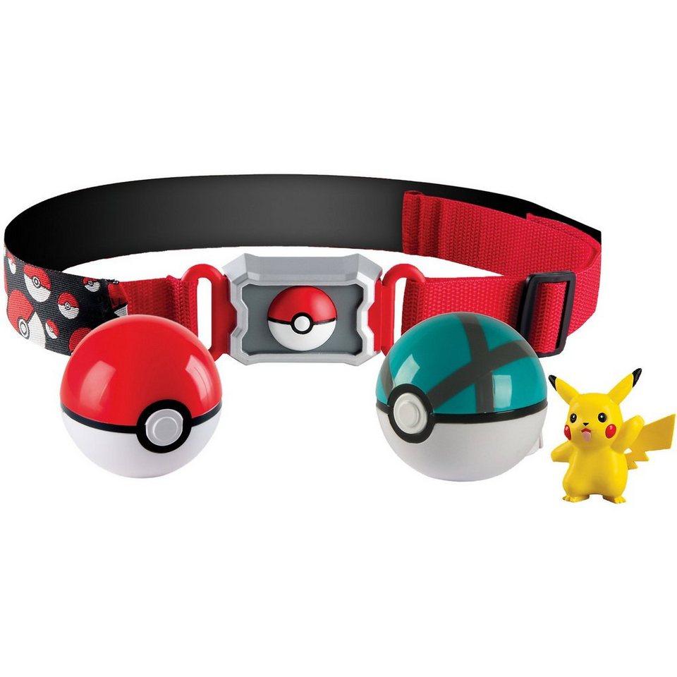 TOMY Pokémon - Pokéballgürtel mit Pokébällen Version 2