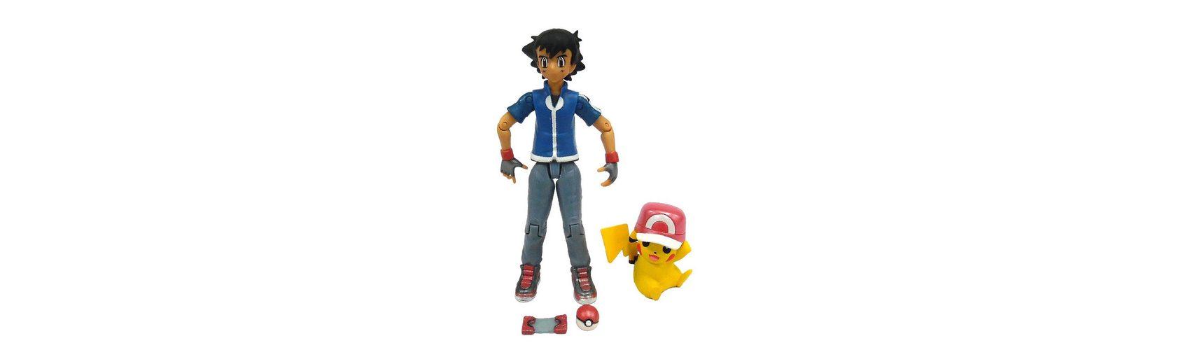 TOMY Pokémon - Ash Spielfigur mit Pikachu