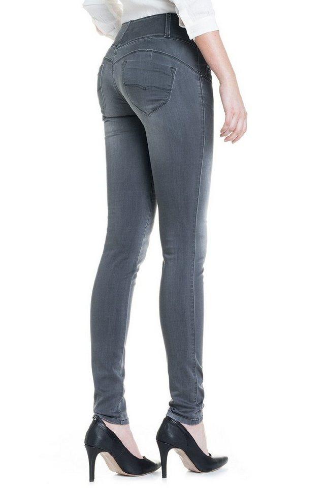 salsa jeans Jean »Slim/ Elegant« in Grey