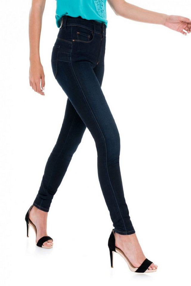 salsa jeans Jean »Push In/ Secret« in Blue