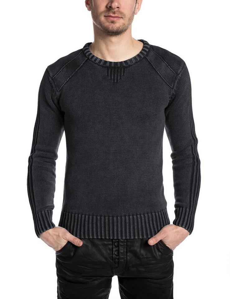TIMEZONE Pullover »CrewVintageTZ« in pirate black