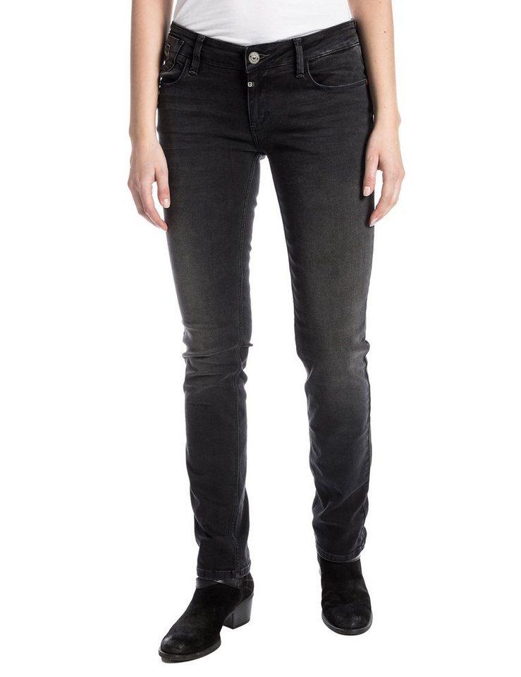 """TIMEZONE Jeans »EmiliaTZ """"9266 black weak wash""""« in black weak wash"""