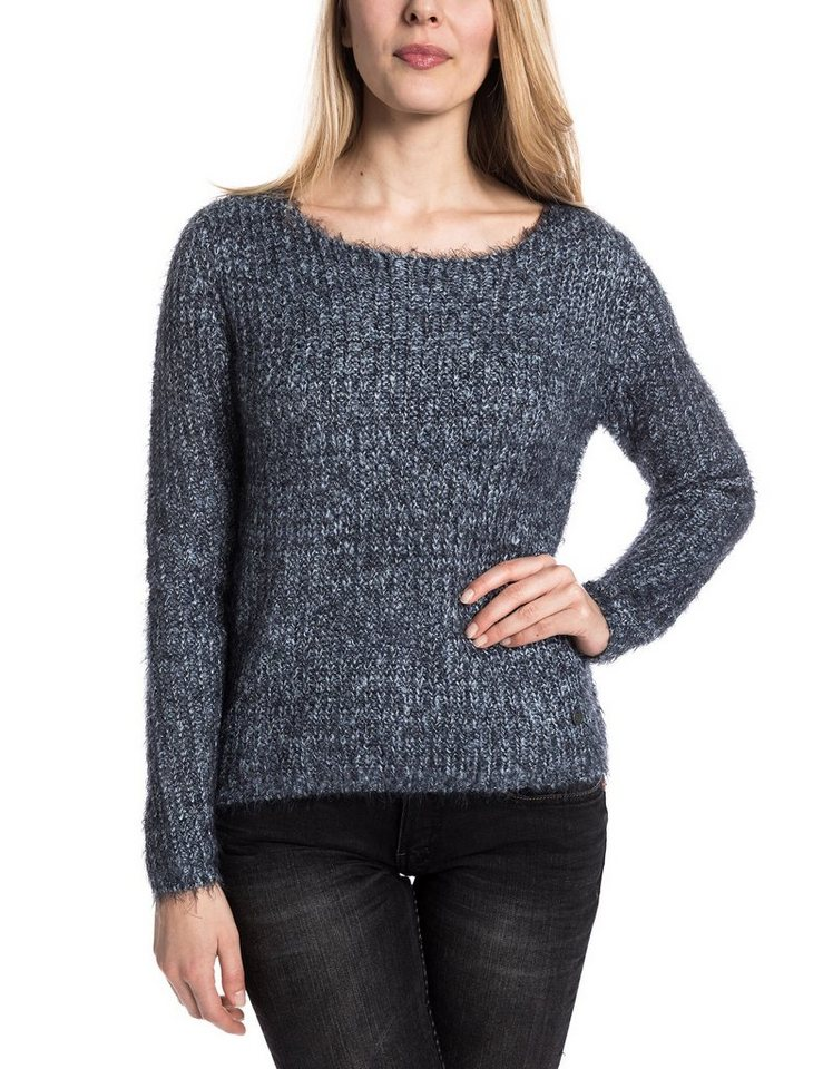 TIMEZONE Pullover »PiaTZ« in fluffy blue