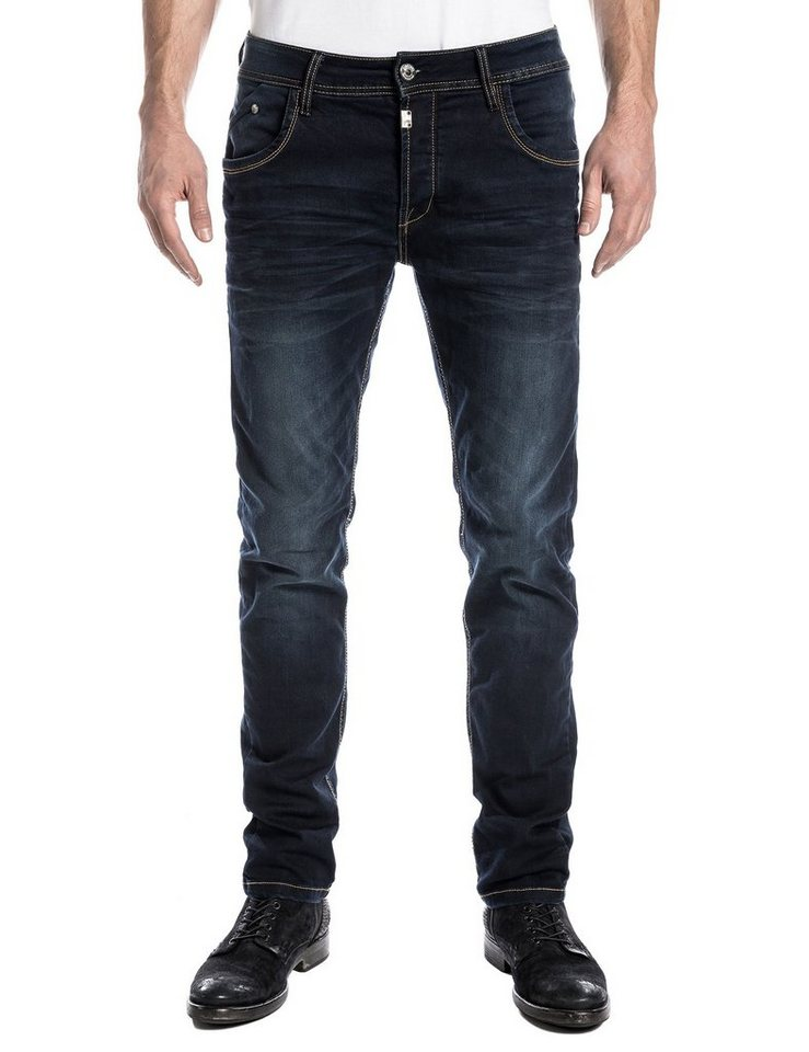 """TIMEZONE Jeans »CostelloTZ """"3738 ink shadow wash""""« in ink shadow wash"""