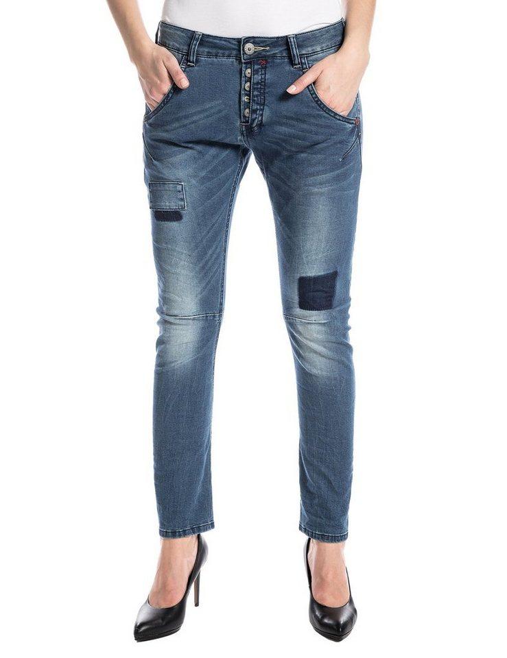 "TIMEZONE Jeans »RivaTZ ""3966 noble indigo wash""« in noble indigo wash"