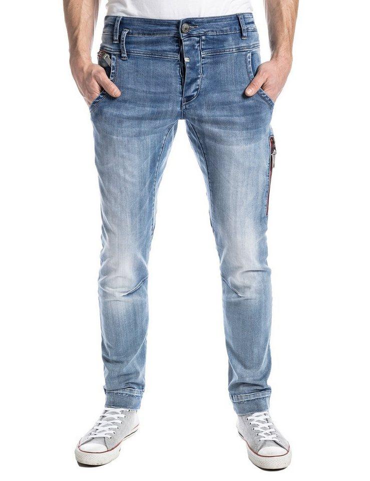 "TIMEZONE Jeans »JacksonTZ ""3499 cool bleach wash""« in cool bleach wash"