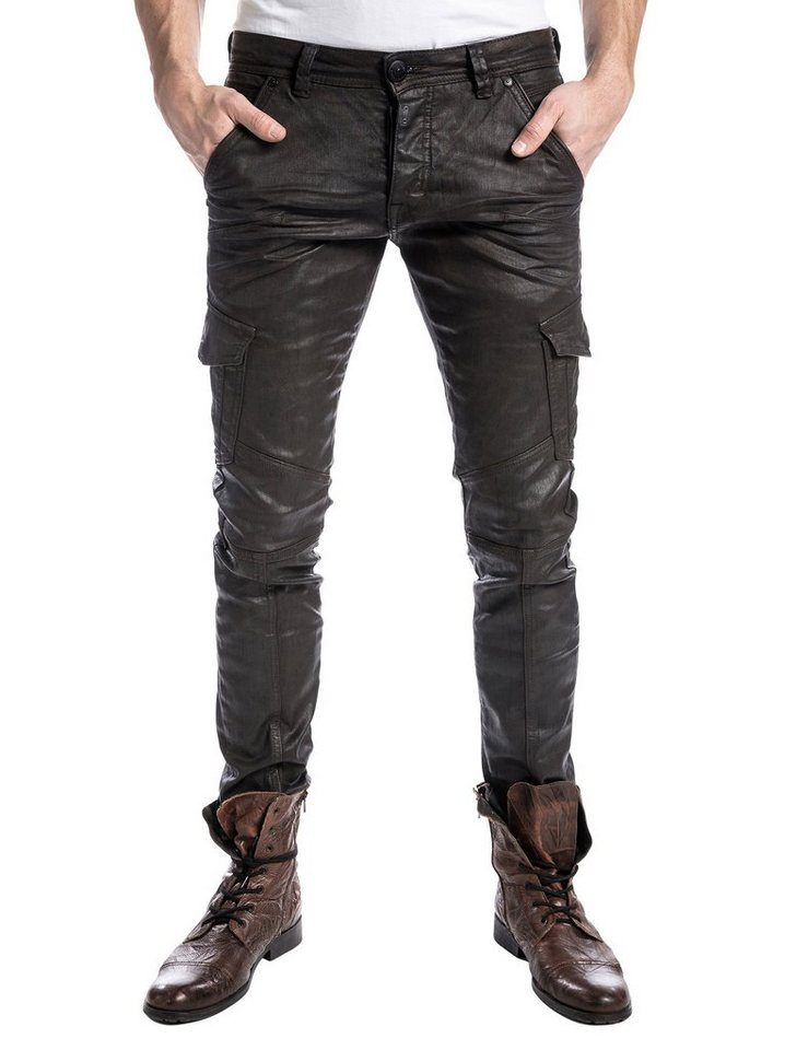"""TIMEZONE Jeans »BrooklynTZ """"3975 vintage leather""""« in vintage leather"""