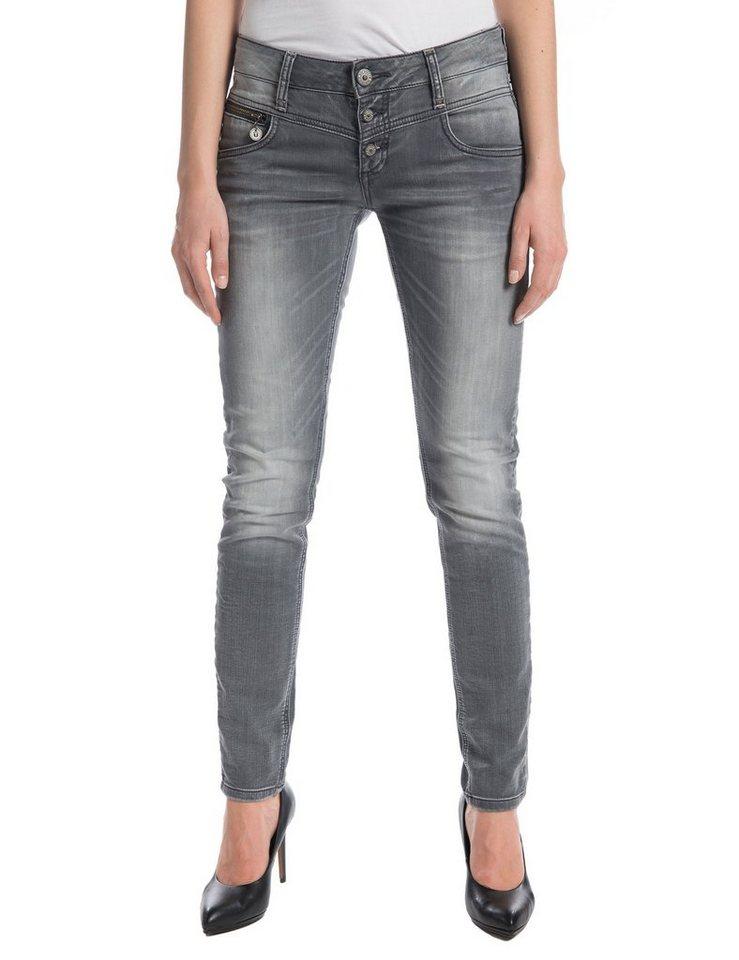 """TIMEZONE Jeans »New KairinaTZ """"9198 steel grey wash""""« in steel grey wash"""