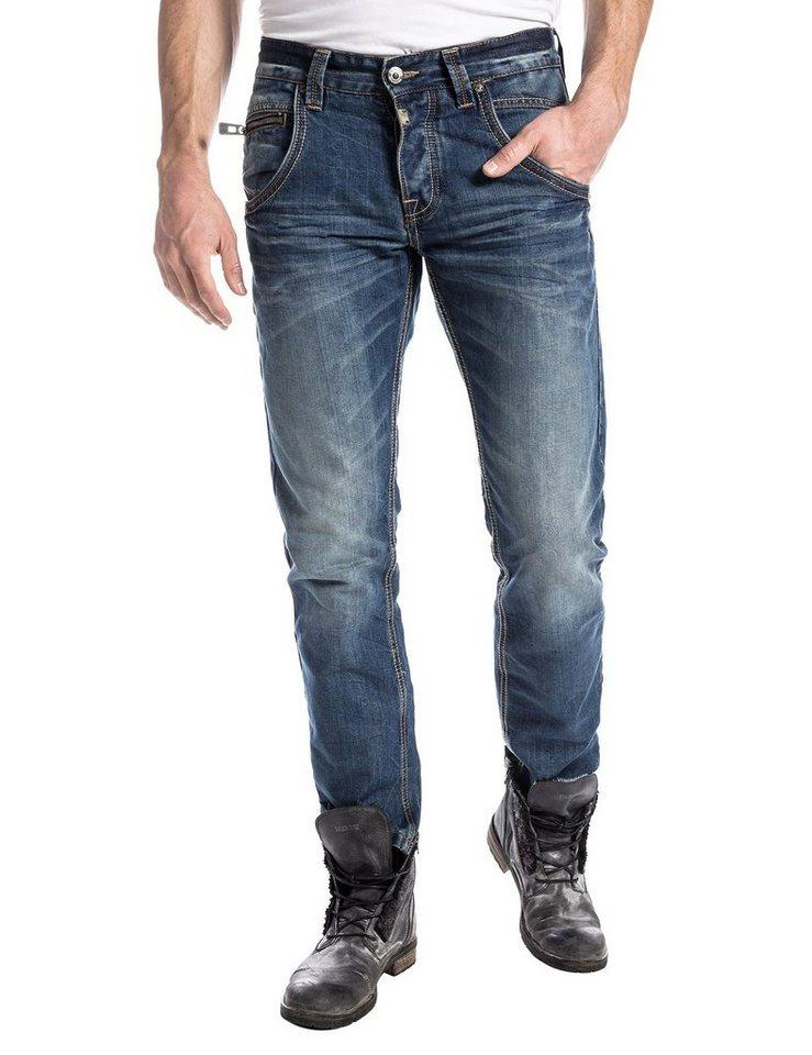 "TIMEZONE Jeans »HaroldTZ rough ""3009 vintage wash""« in vintage wash"