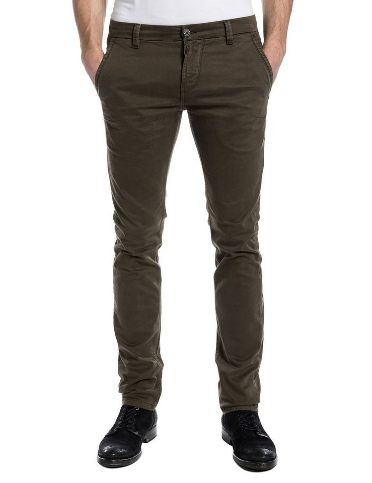 TIMEZONE Hosen lang »ArturTZ chino pants« in jungle green
