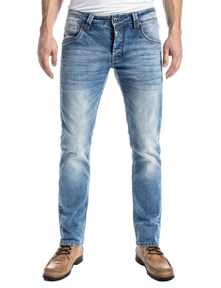 "TIMEZONE Jeans »EduardoTZ ""3978 best blue wash""« in best blue wash"