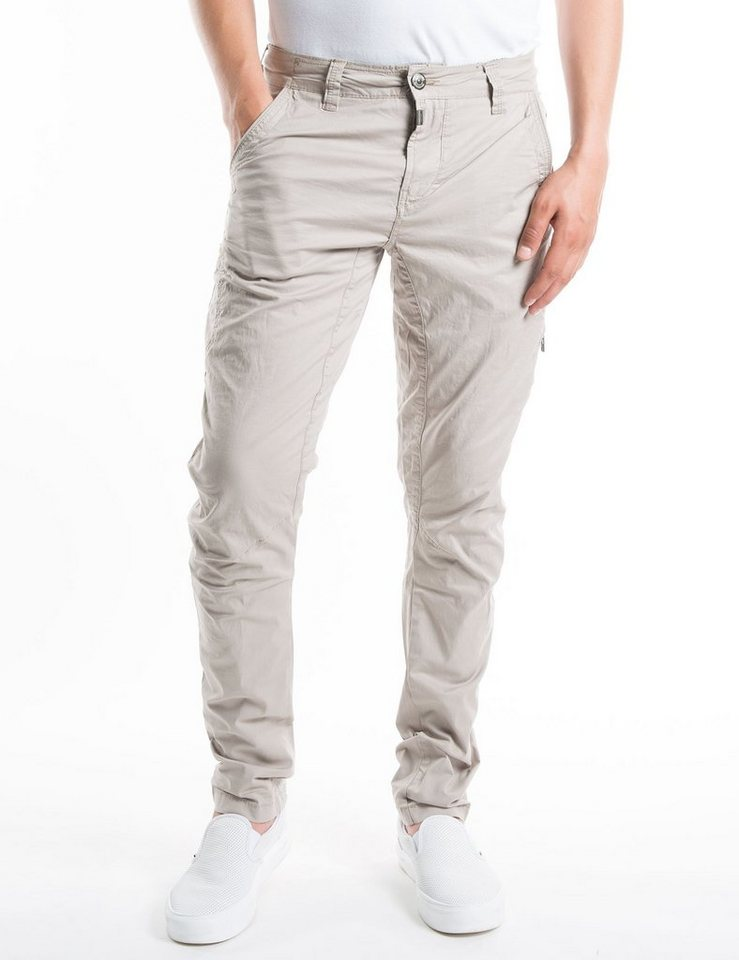 TIMEZONE Hosen lang »AxelTZ 3D traveller pants« in nature beige