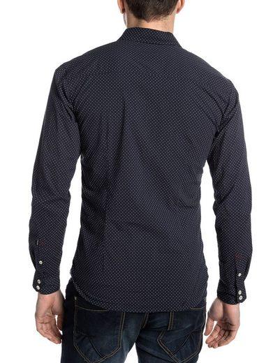 TIMEZONE Hemden (langarm) PierceTZ