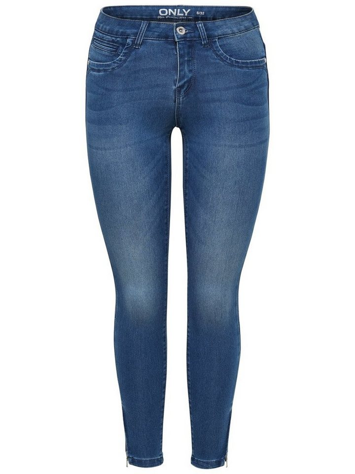 Only Kendell ultimate ankle Skinny Fit Jeans in Medium Blue Denim