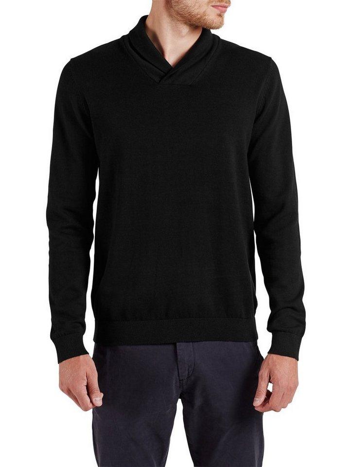 Jack & Jones Schalkragen- Pullover in Black