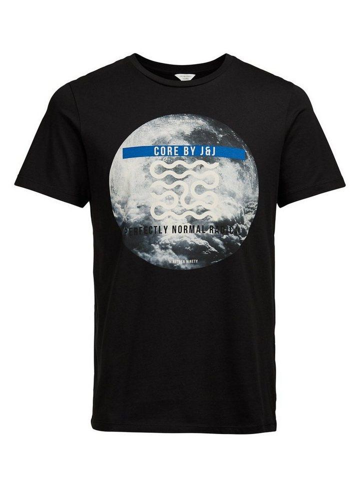 Jack & Jones Foto-Print T-Shirt in Black