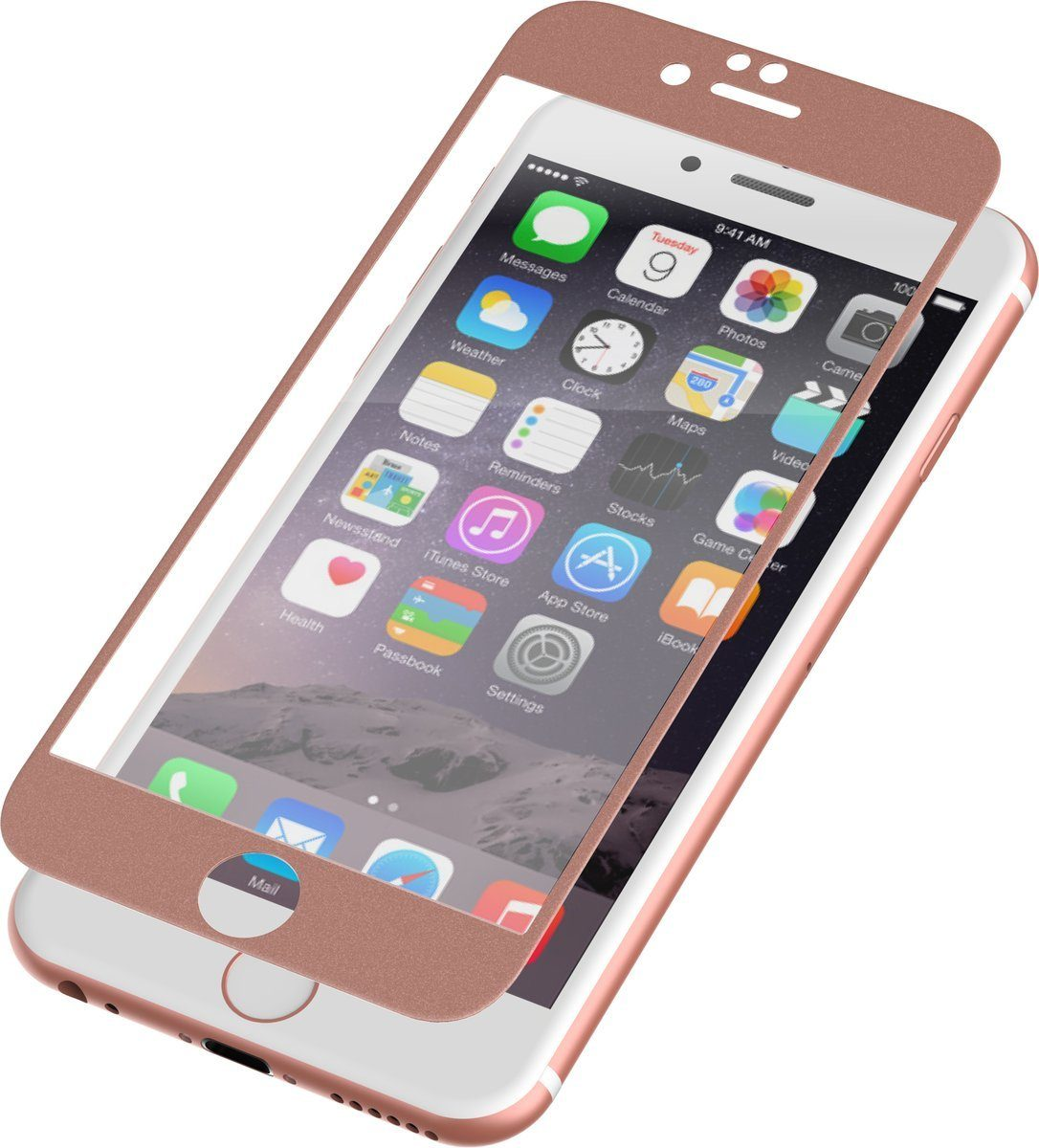 invisibleSHIELD Folie »Glass Luxe Full Screen iPhone 6 Plus«