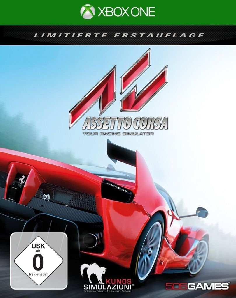 505 Games XBOX One - Spiel »Assetto Corsa«