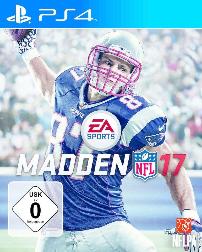 Electronic Arts Playstation 4 - Spiel »MADDEN NFL 17«