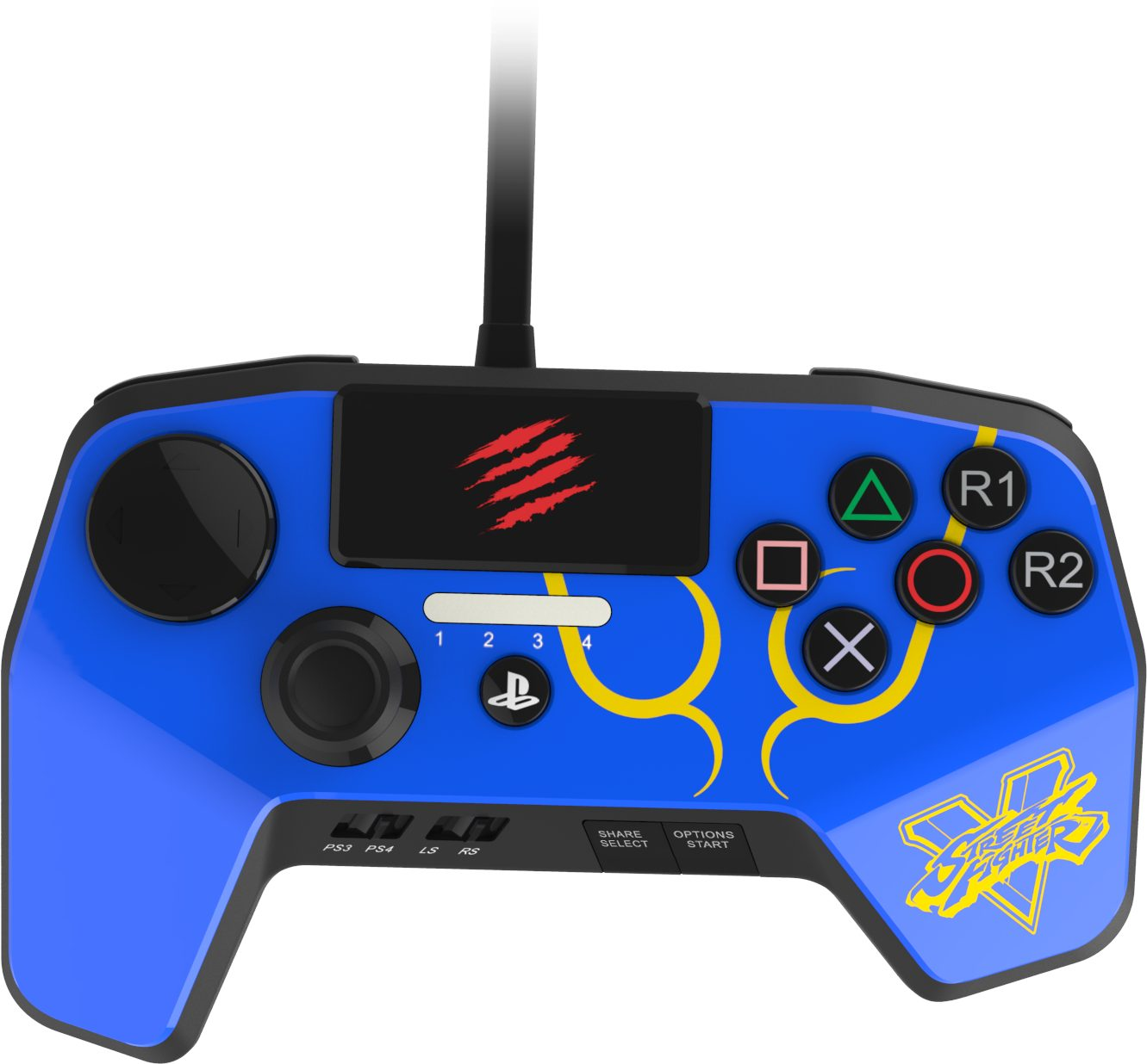 Mad Catz Street Fighter V2 FightPad PRO A4 - Chun Li »(PS4 PS3)«