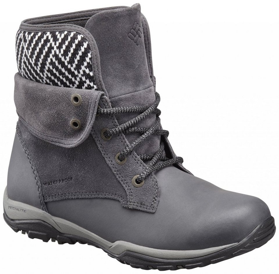 Columbia Kletterschuh »Cityside Fold Boots Women WP« in grau