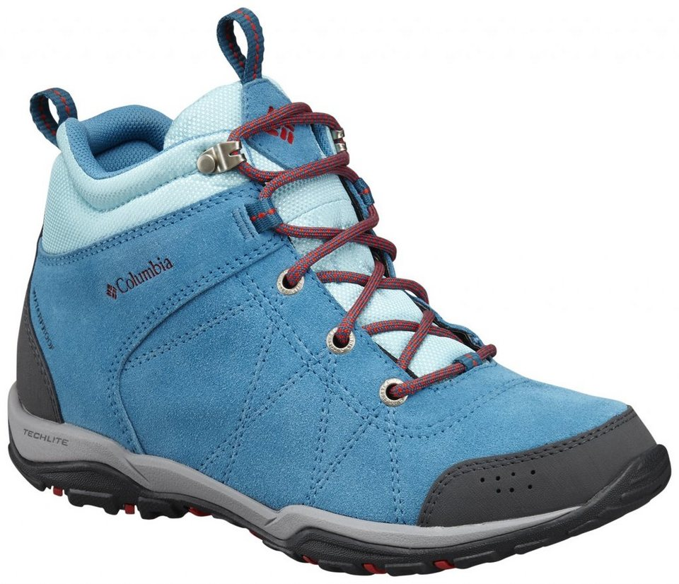 Columbia Kletterschuh »Fire Venture Shoes Women Mid WP« in blau