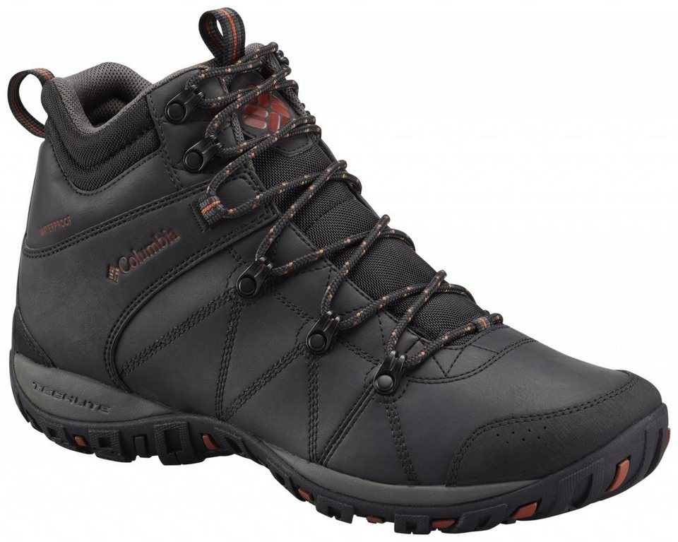 Columbia Kletterschuh »Peakfreak Venture Shoes Men Mid WP Omni-HEAT« in schwarz