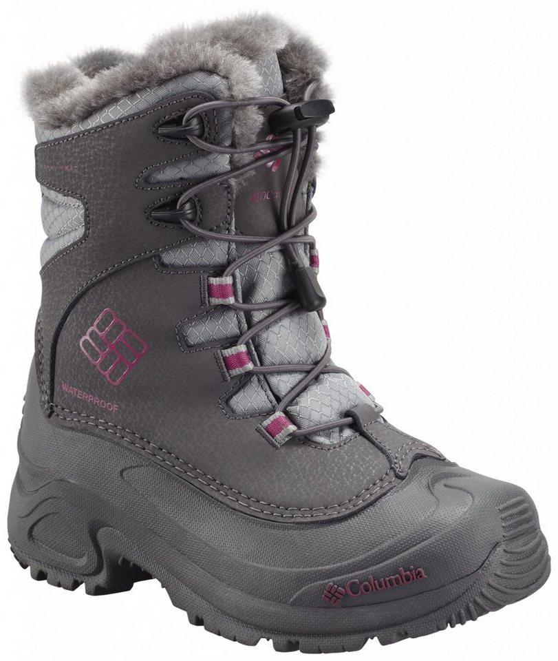 Columbia Stiefel »Bugaboot Plus III Boots Youth Omni-HEAT« in grau