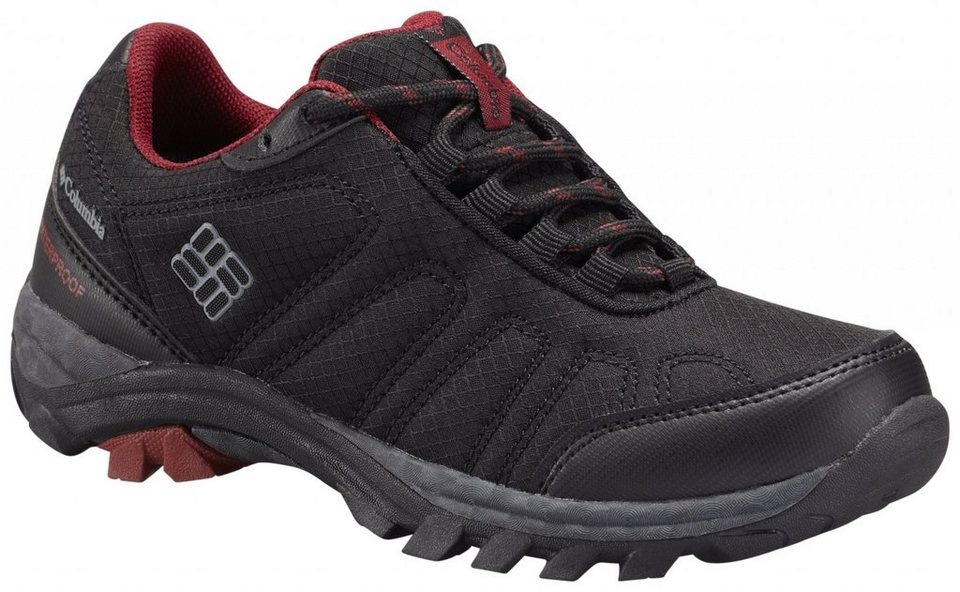 Columbia Kletterschuh »Firecamp Shoes Youth WP« in schwarz